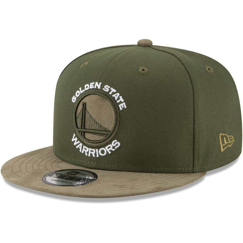 2f6444da4940b Golden State Warriors New Era Rifle Tonal Choice 9FIFTY Adjustable Hat –  Green