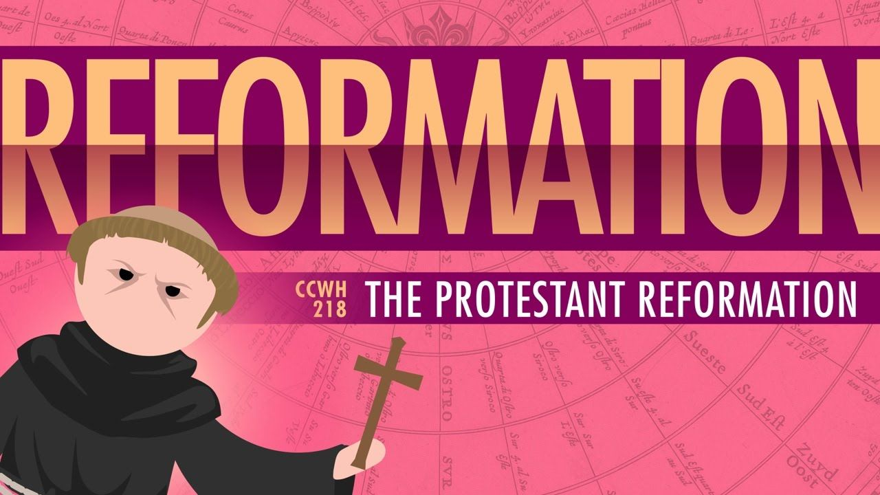 Luther And The Protestant Reformation World History 218 History