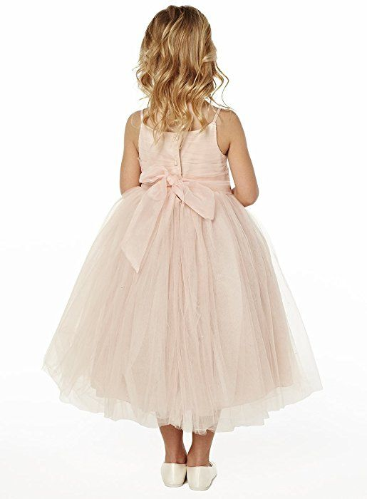bc80102ecb Princhar Tulle Flower Girl DressJunior Bridesmaids Dress Little Girl