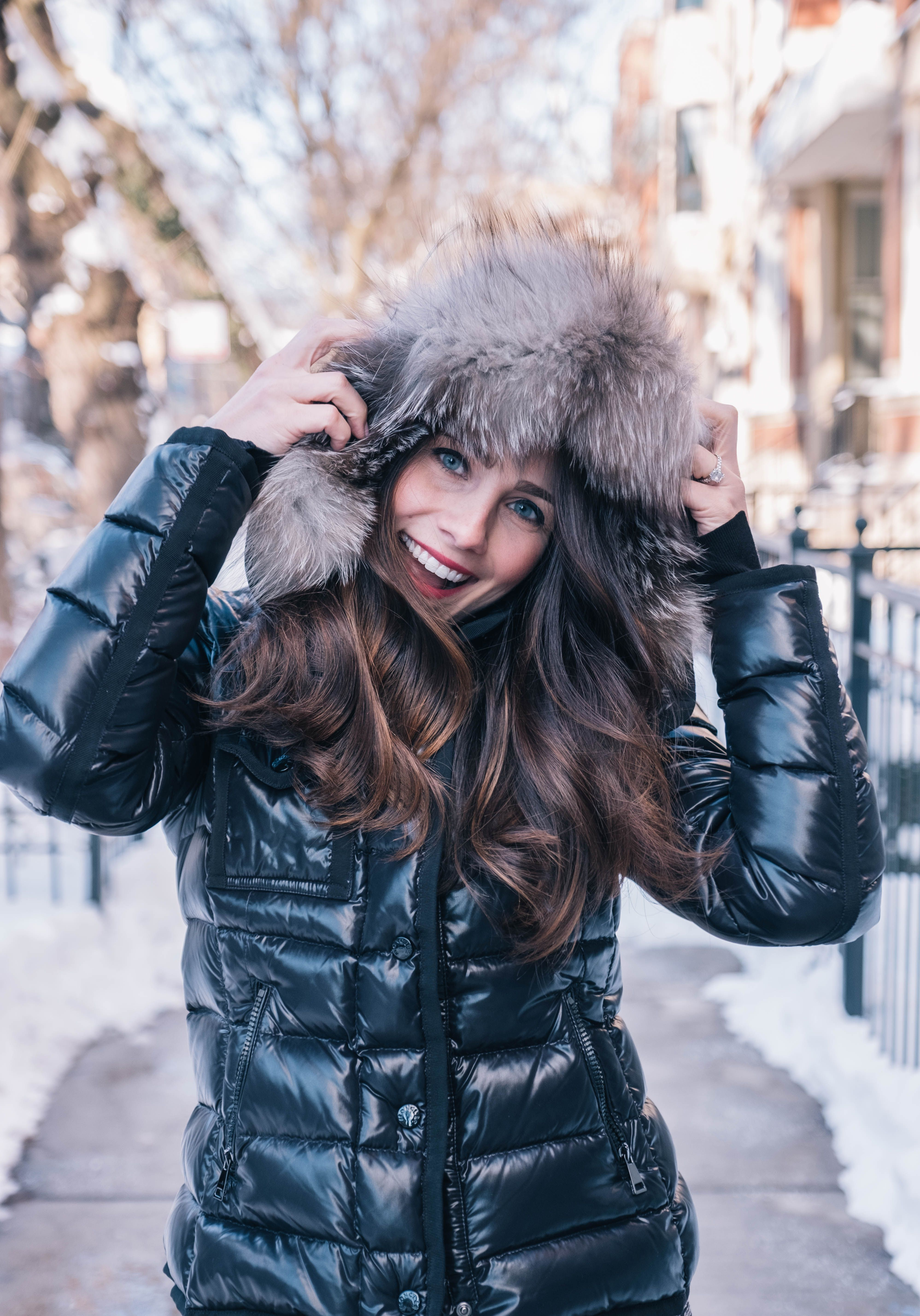 2f0fe659f My Favorite Winter Coat For Less | My Style | Puffer coat with fur ...