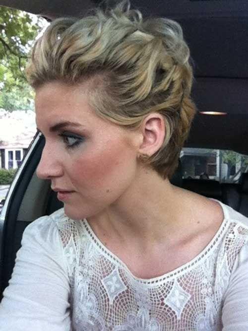 14 Short Hair Updo For Wedding Peinados De Boda Updo Y Pelo Corto