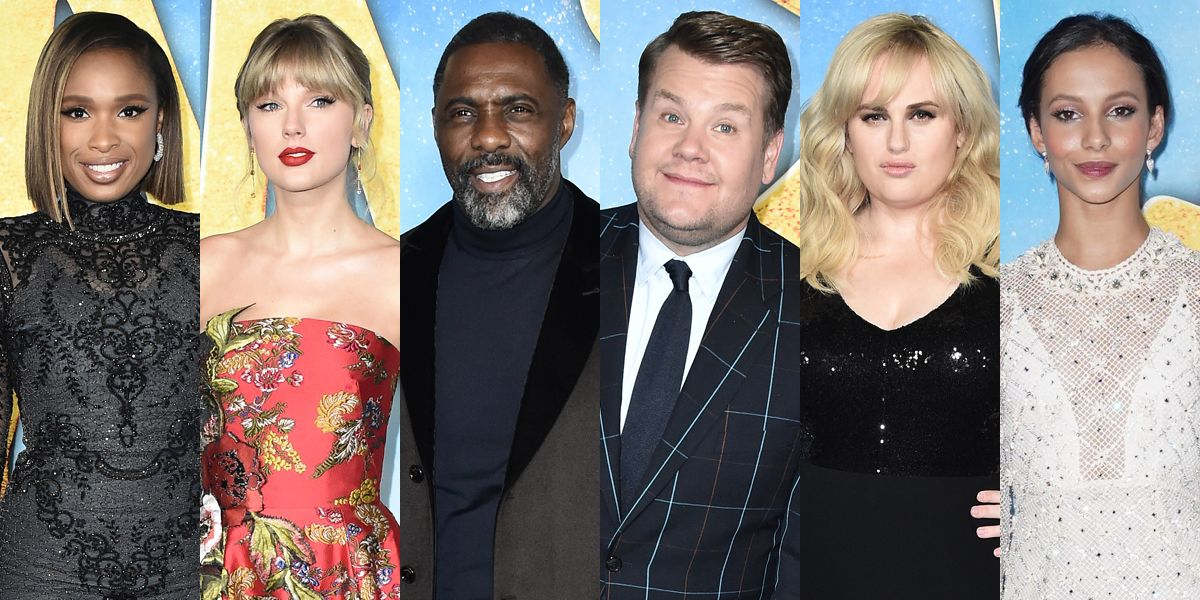 The Star Studded Cats Movie Cast Wows At Nyc Red Carpet Premiere It Movie Cast Cat Movie Premiere