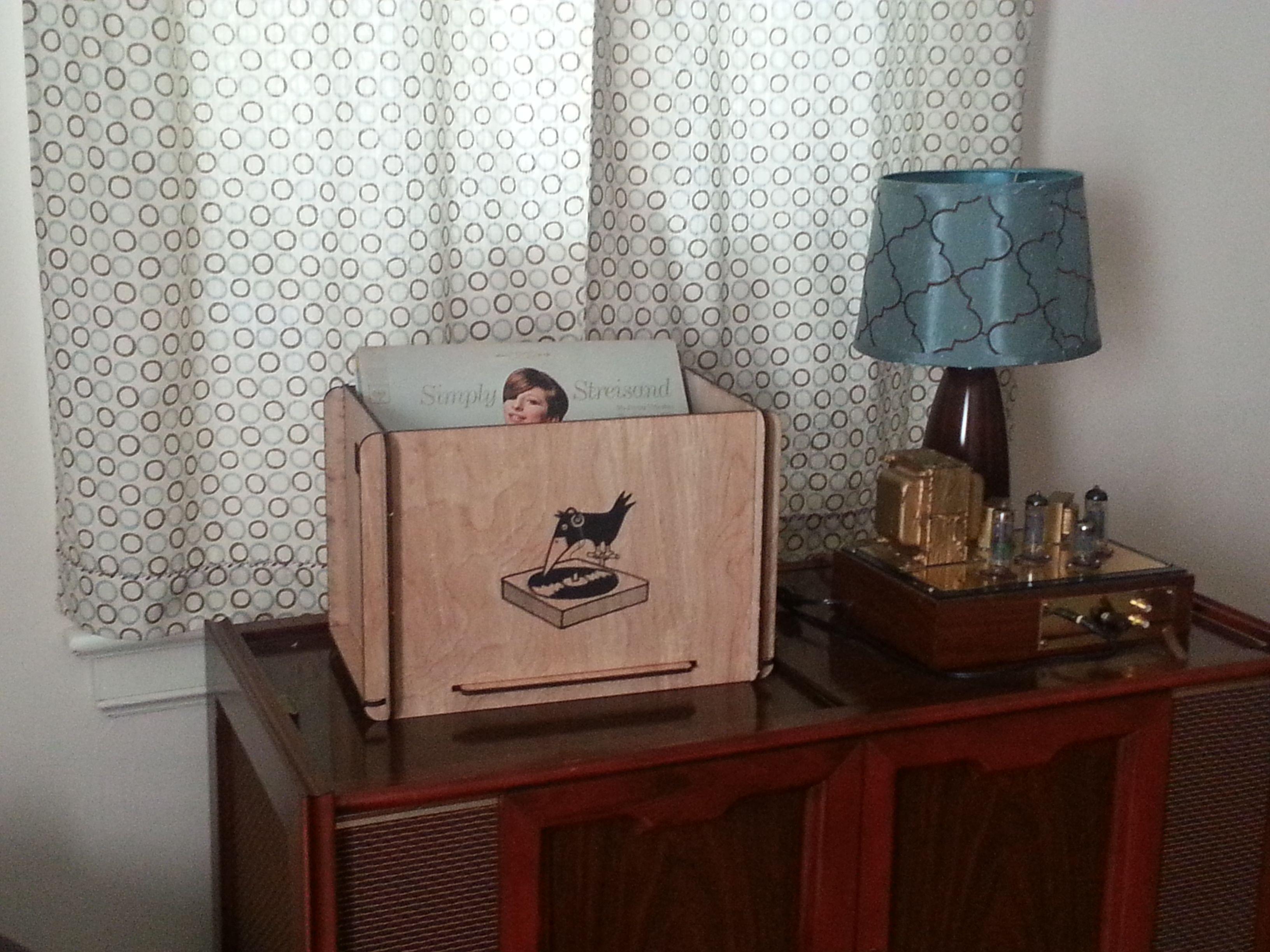 Romany House Record Box