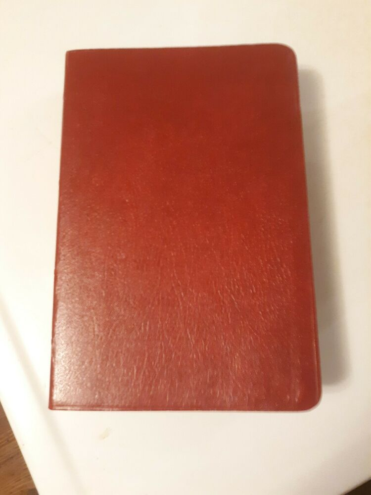 NIV Holy Bible With Concordance Red Letter Edition