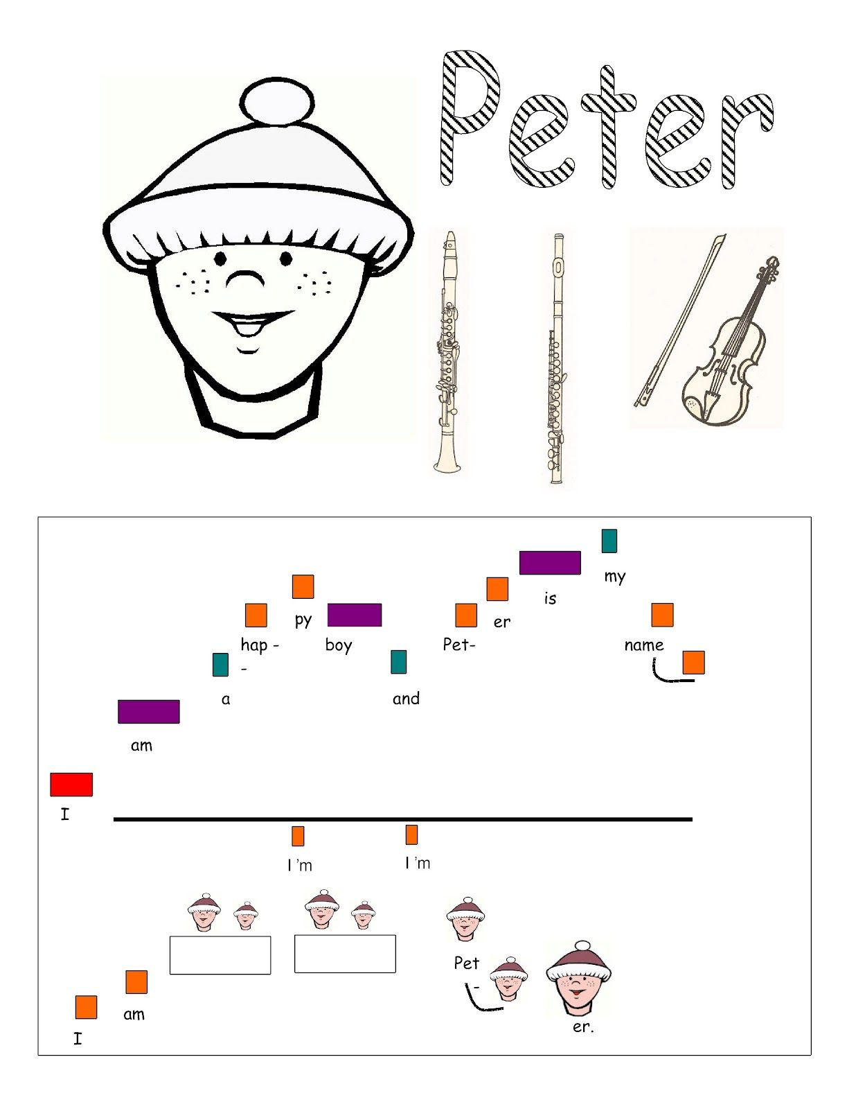 worksheet Peter And The Wolf Worksheet 29 best music peter and the wolf unit images on pinterest classroom teachers teaching music