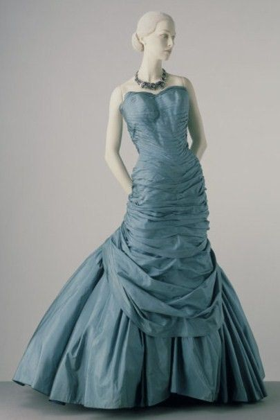 blue gown charles james ball gown