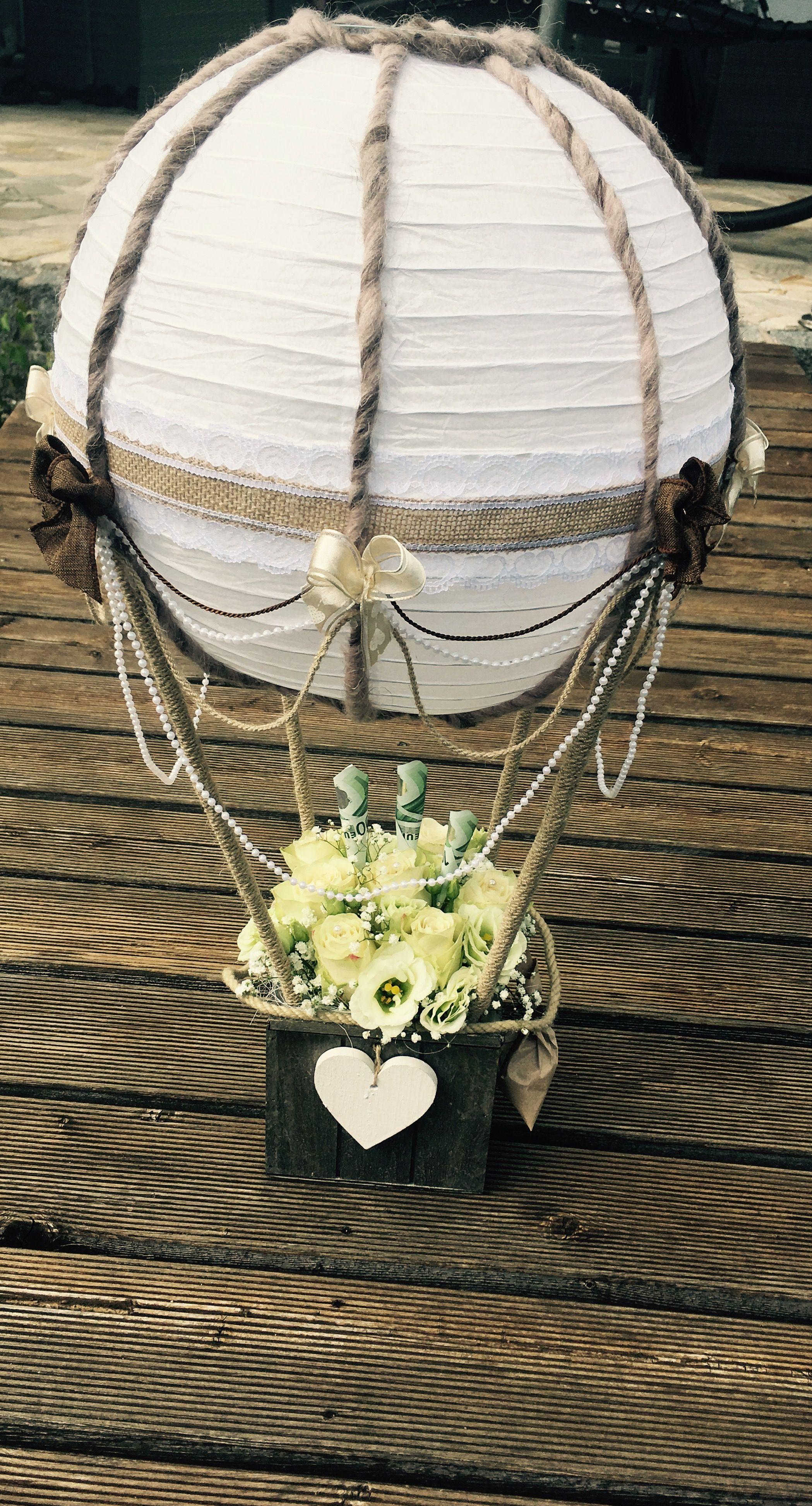 Hochzeit Ballon Geschenk  Kreativitt