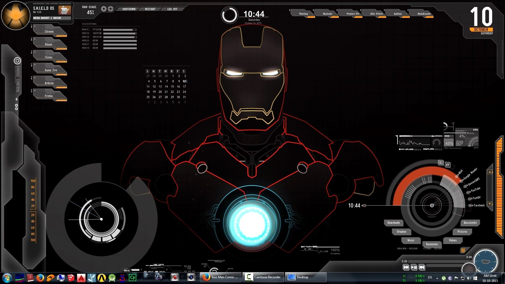 Jarvis Wallpaper 4k For Pc Gallery Di 2020 Iron Man