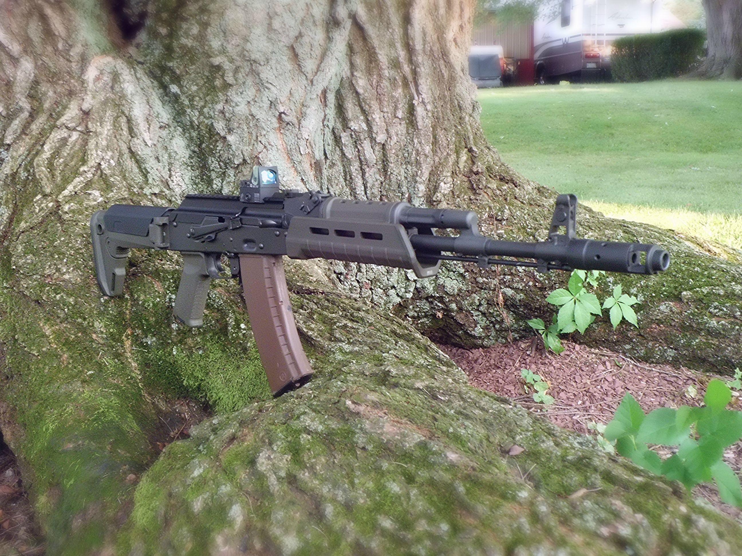 AK 74 in Magpul OD furniture