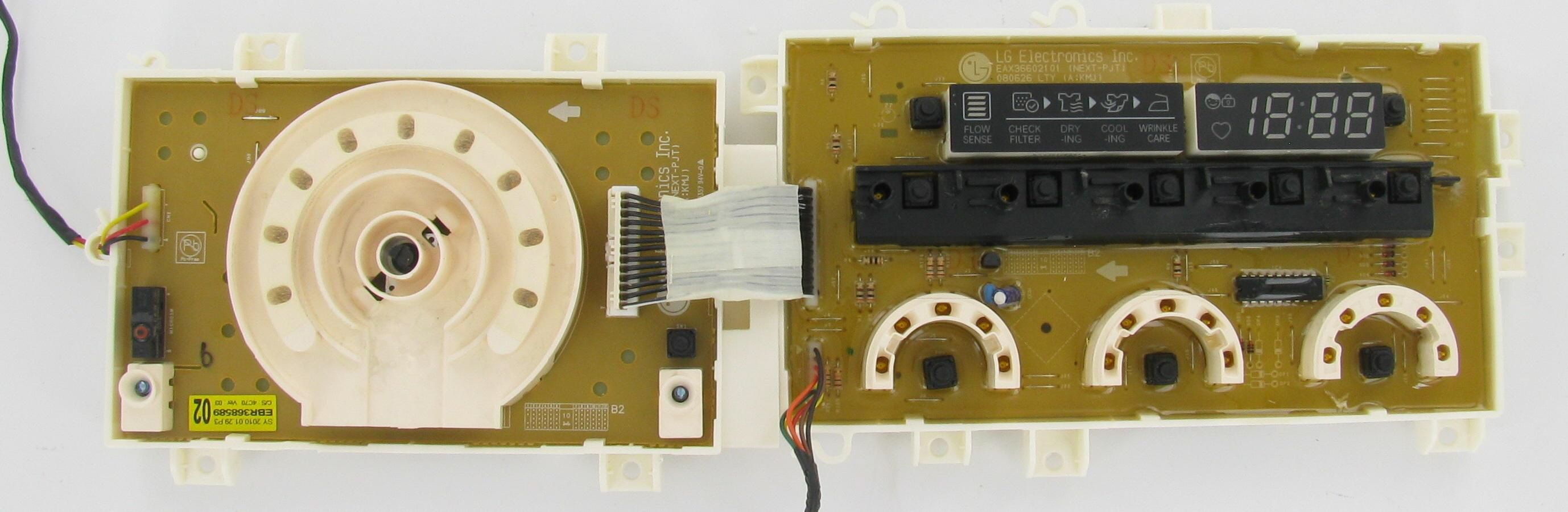 Lg ebr laundry dryer pcb assembly board control boards