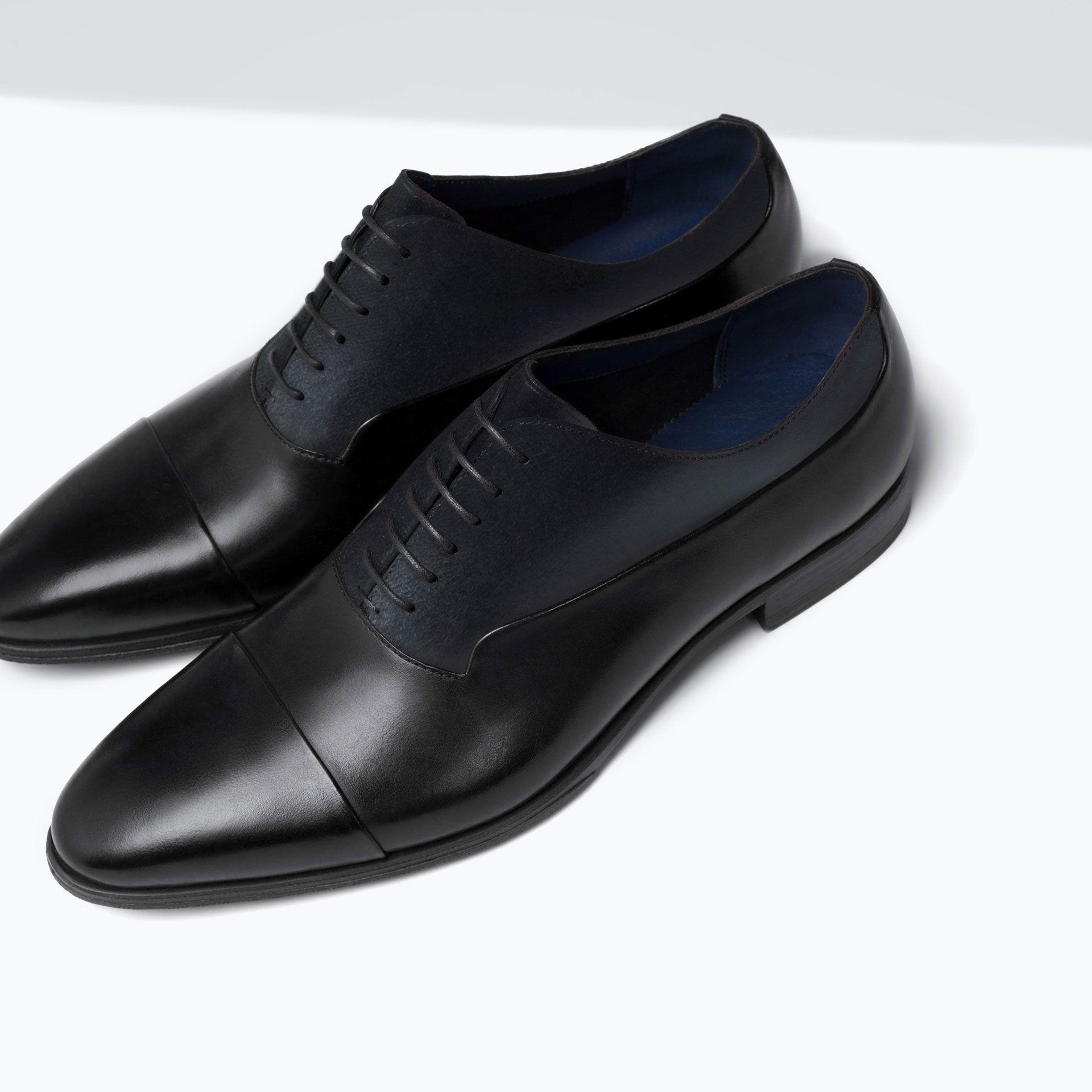 ZARA MAN FASHION BROGUE | Zapatos hombre