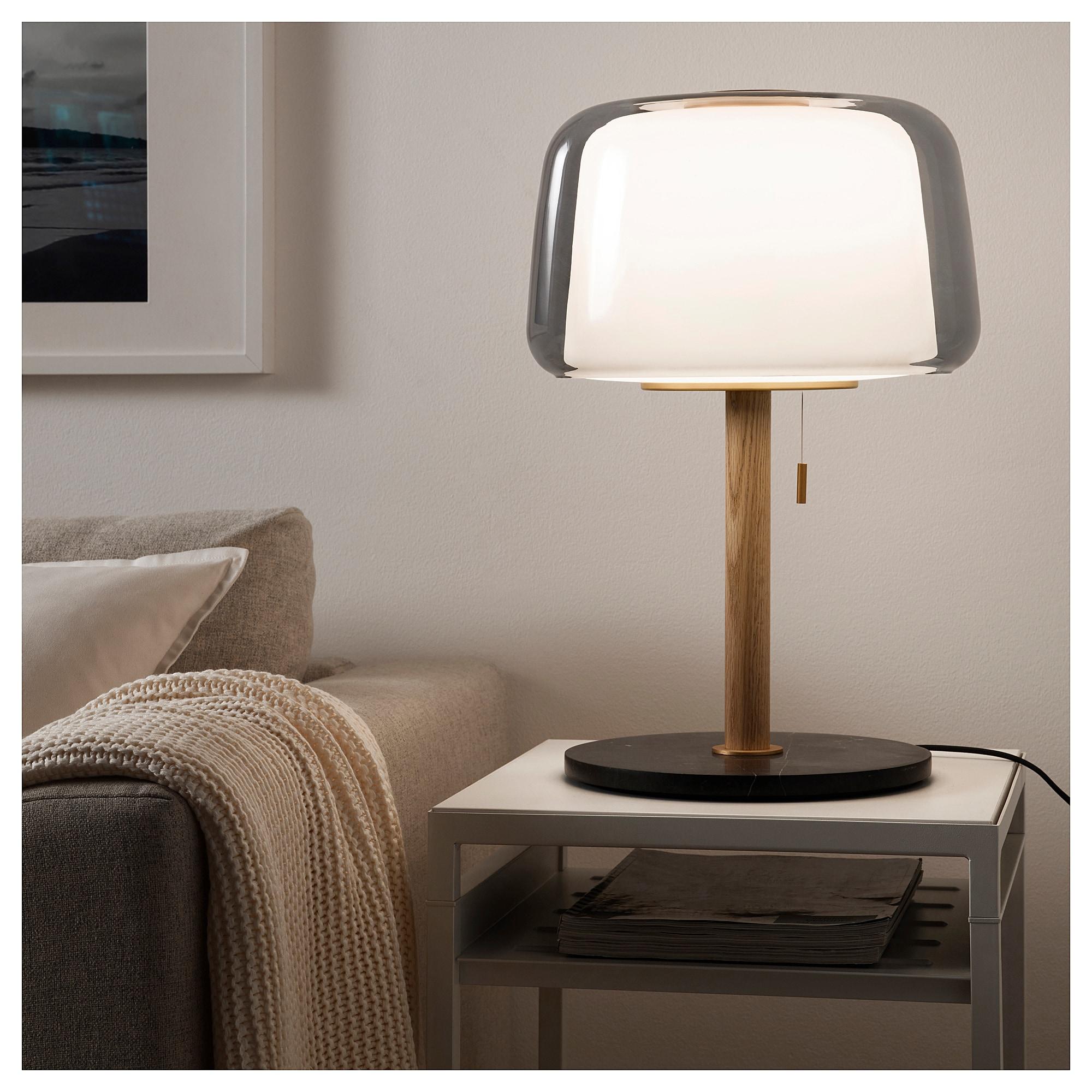 Evedal Lampe De Table Marbre Gris Gris Grey Table Lamps Lamp