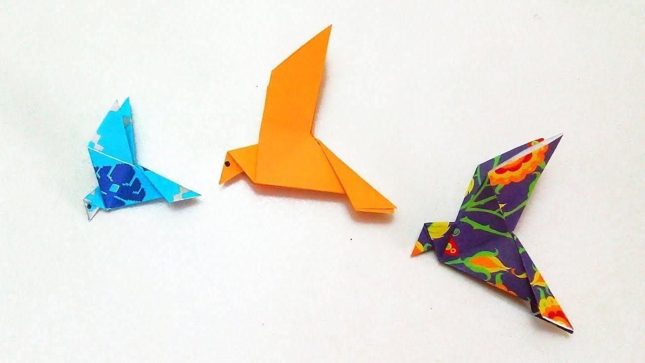 Hiasan Dinding Kertas Origami Yang Mudah