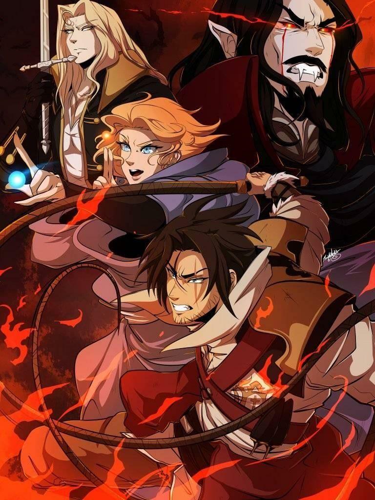 Pin by AMEH DA WIZA on Castlevania Netflix anime, Anime