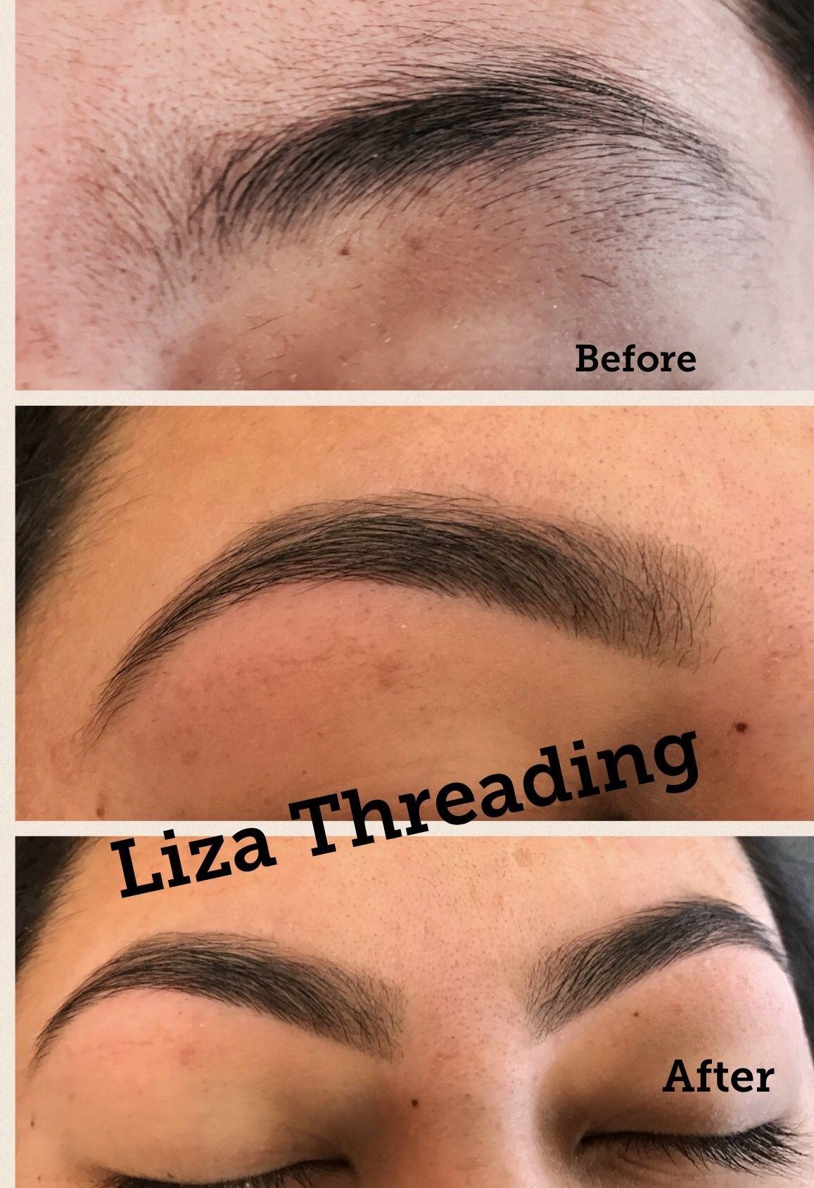 Pin By Liza Threading On Eyebrow Threading In Oxnard Pinterest