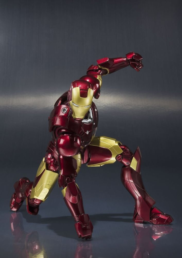 Bandai S.H.Figuarts Iron Man Mark 3 Marvel Action Figure # ...