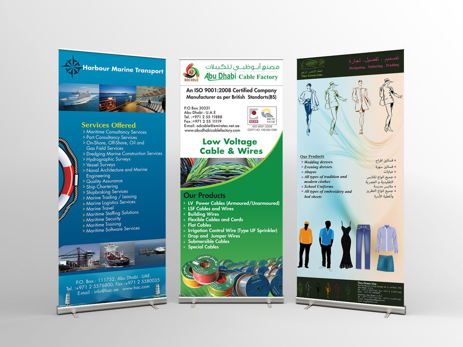 Abu Dhabi Rollup Design | Abu Dhabi Rollup Design | Pinterest | Abu ...