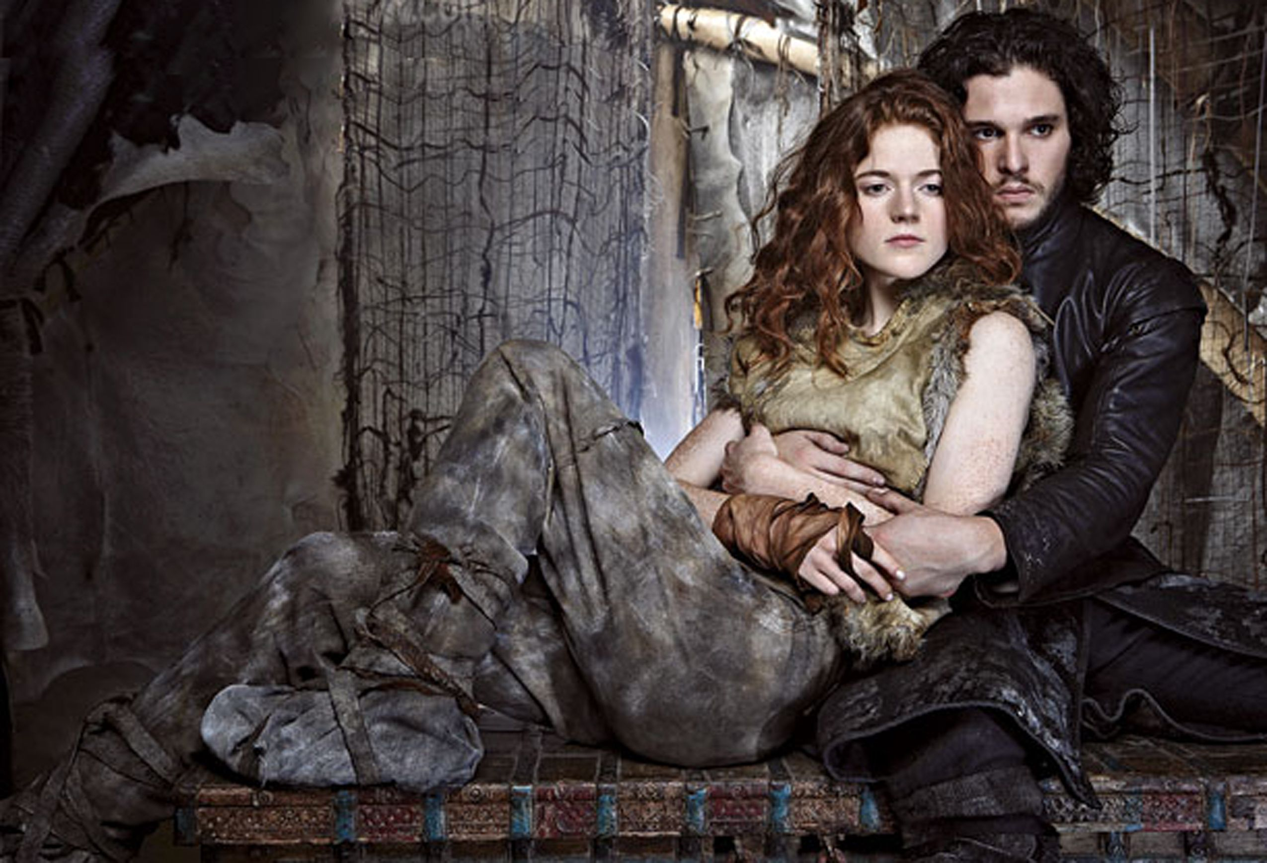 With Respect To The Former, Jon Snow And Ygritte (Played
