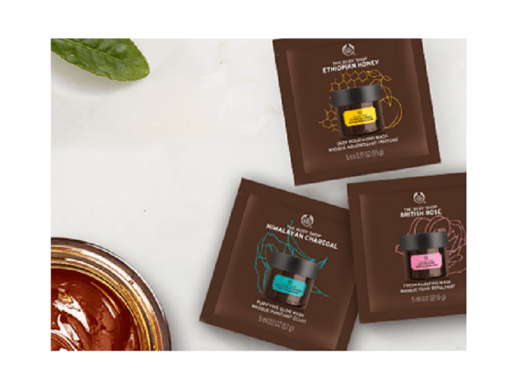 Expert Facial Mask Samples for Free! The body shop, Face
