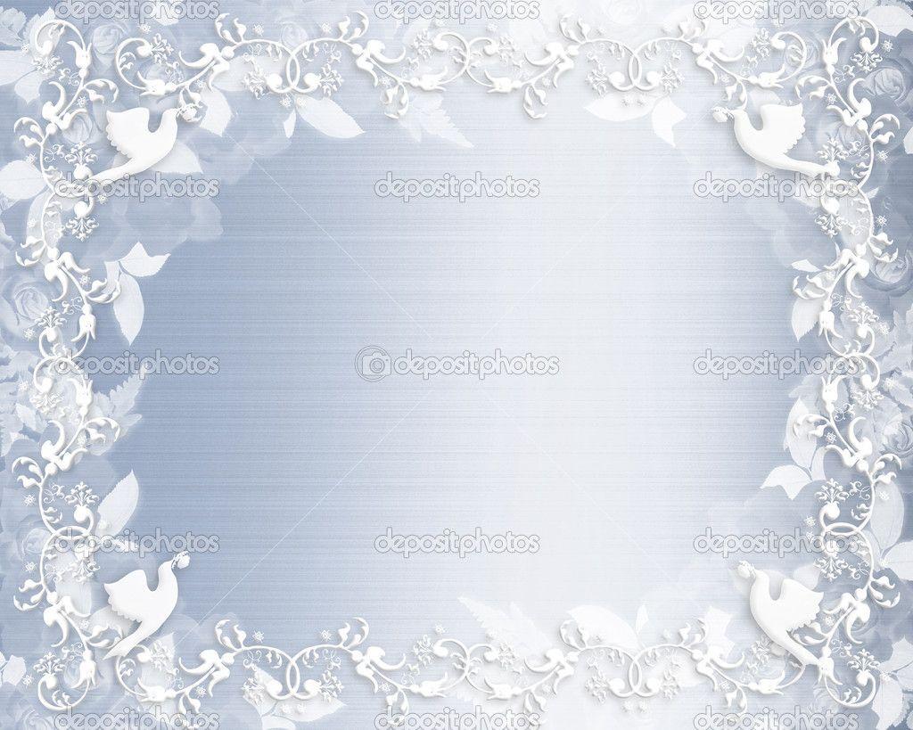 clip art wedding borders free | Wedding Invitation Floral border ...