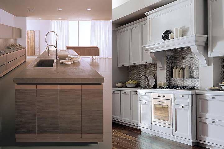 cucine in muratura rustiche e moderne - cucina in muratura moderna - Cucine Incassate