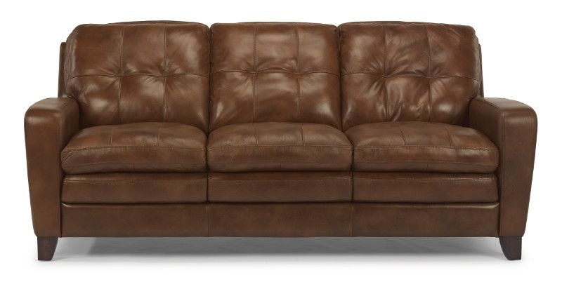 Jupiter Leather Sofa 1644 31 Sofas From Flexsteel At Crowley Furniture Leather Couch Sofa Cushions On Sofa