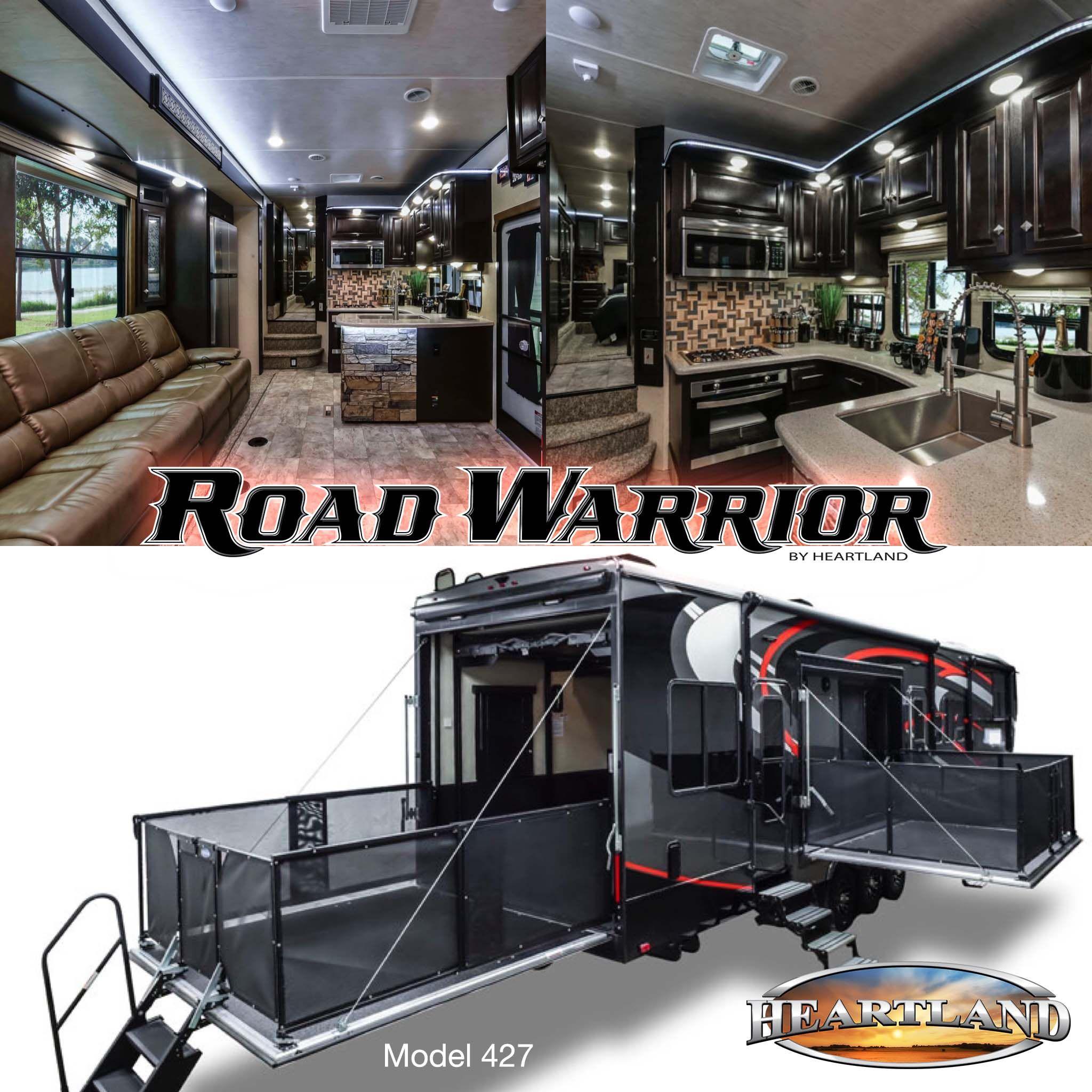 Road Warrior Trailer >> Rw 427 Toy Hauler Camper Toy Hauler Travel Trailer Fifth
