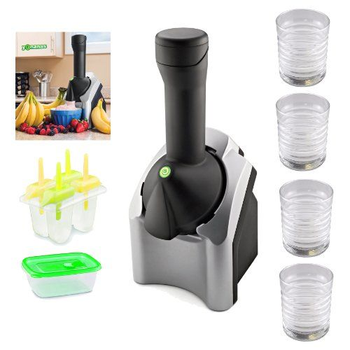 #Yonanas #901 Deluxe Frozen Treat Maker with Cute Brutes Ice Cream Bowl and Spoon #2-Pack   really love it!   http://amzn.to/IYXGAM