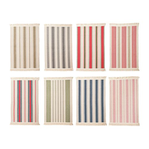 Elegant SIGNE Rug, Flatwoven IKEA Easy To Keep Clean Since It Is Machine Washable.  Great