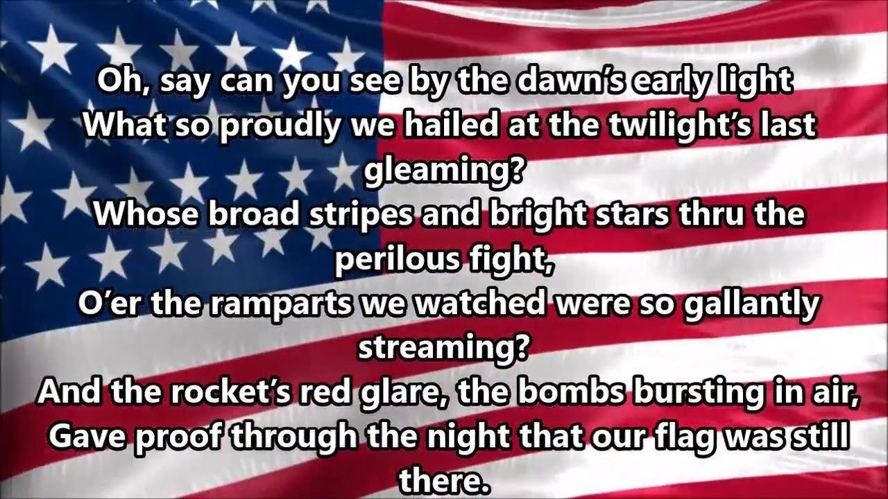Star Spangled Banner Day