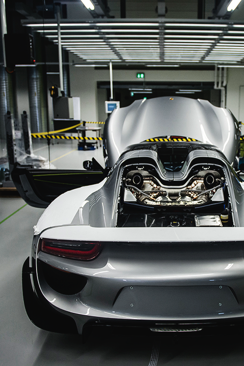 6sdhaven Porsche 918 Spyder On The Production Line