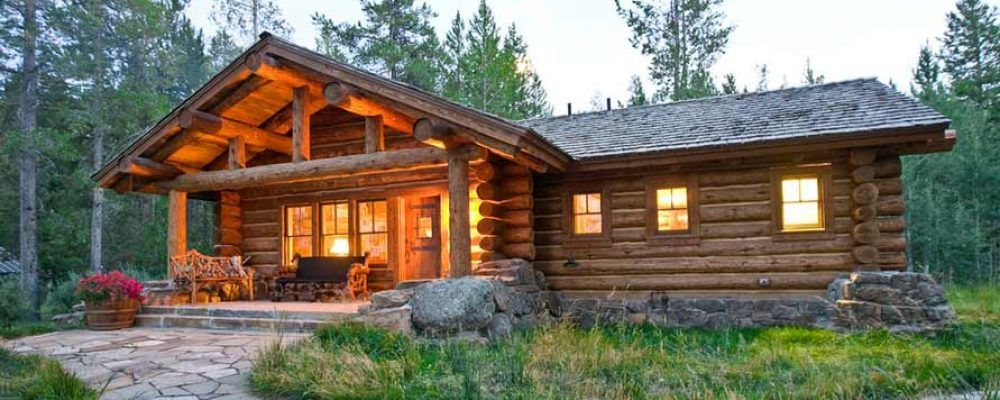 Stunning Log House W Stone Fireplace 12 Hq Pictures Top Timber Homes In 2020 Log Homes Cottage Exterior Timber House