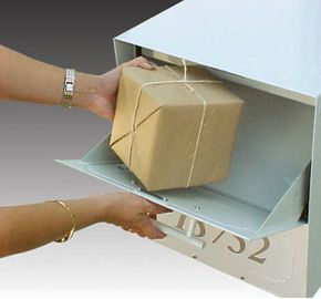 Oasis® Locking Mailbox Has An Innovative Oversized Patented Parcel Delivery  Door Which Allows For Delivery Of Small Parcels And Mail Bundles, Keeping  Items ...