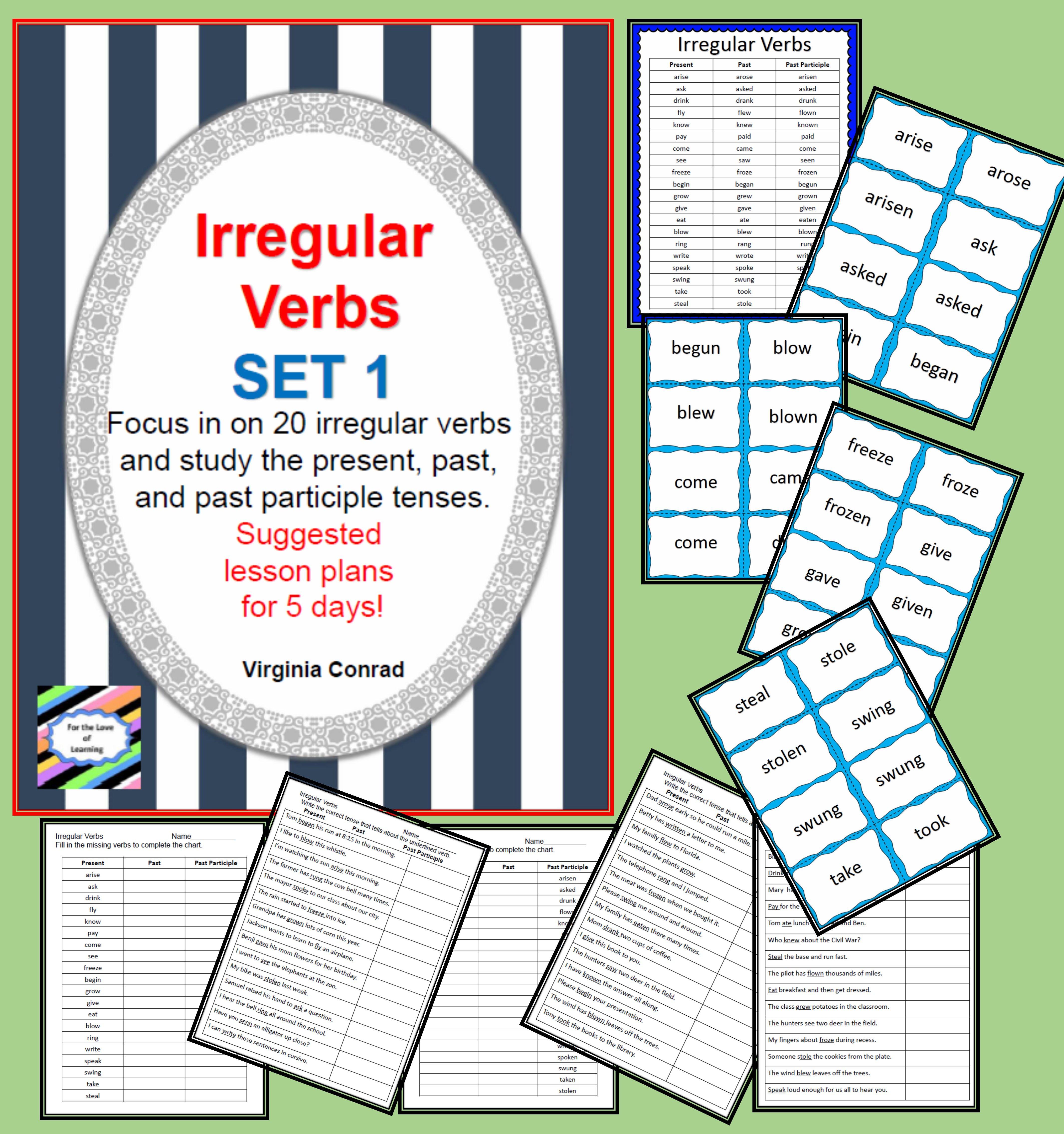 Irregular Verbs Set 1