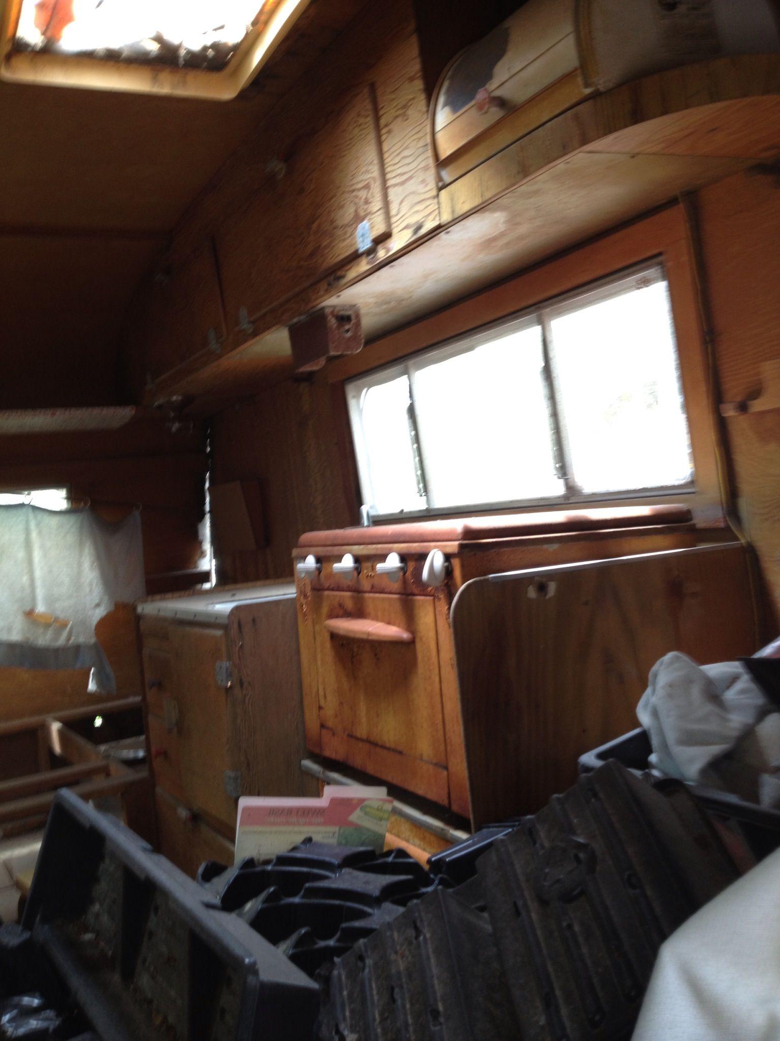 Interior ( before) Camper makeover, Home appliances