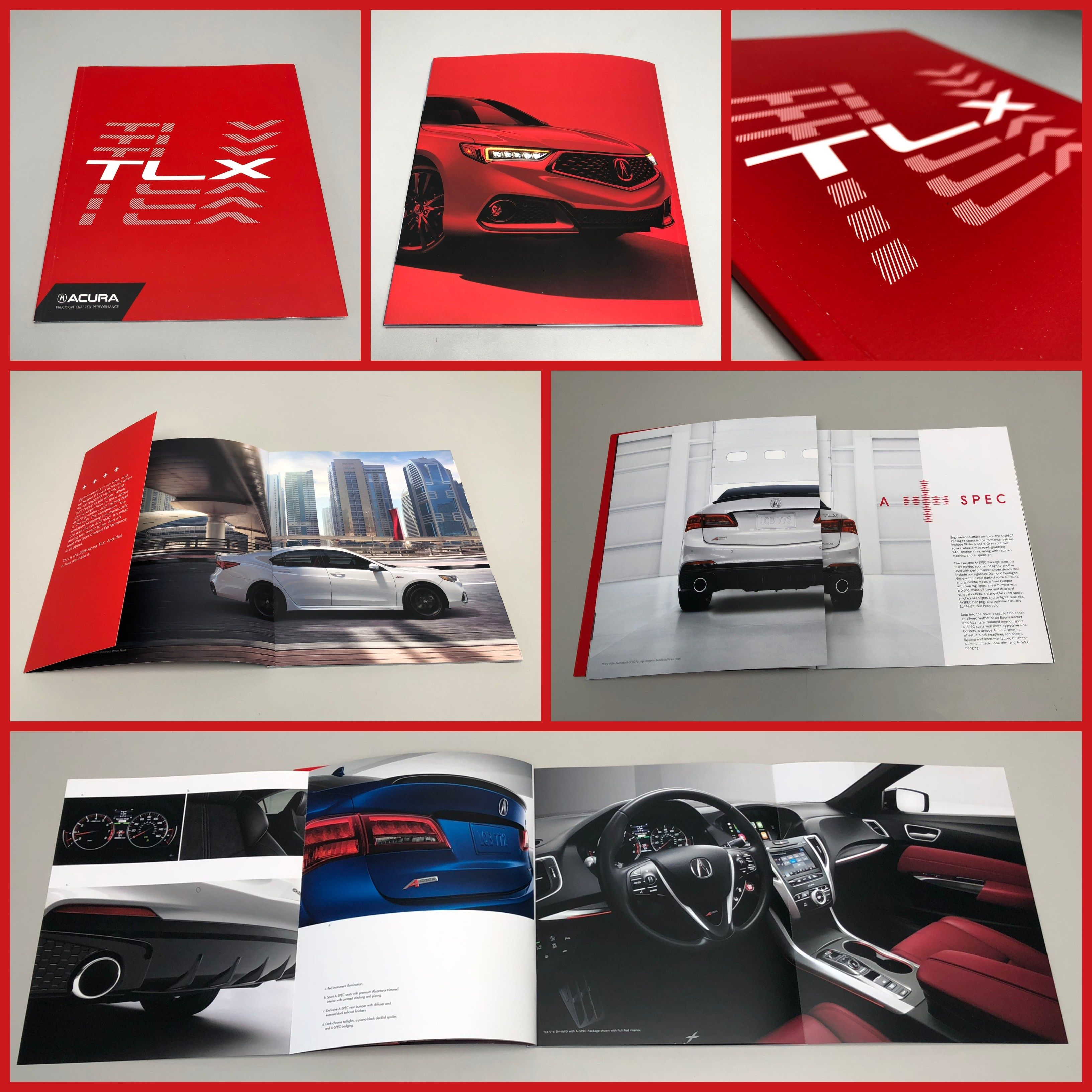 Acura Tlx, Acura, Brochure