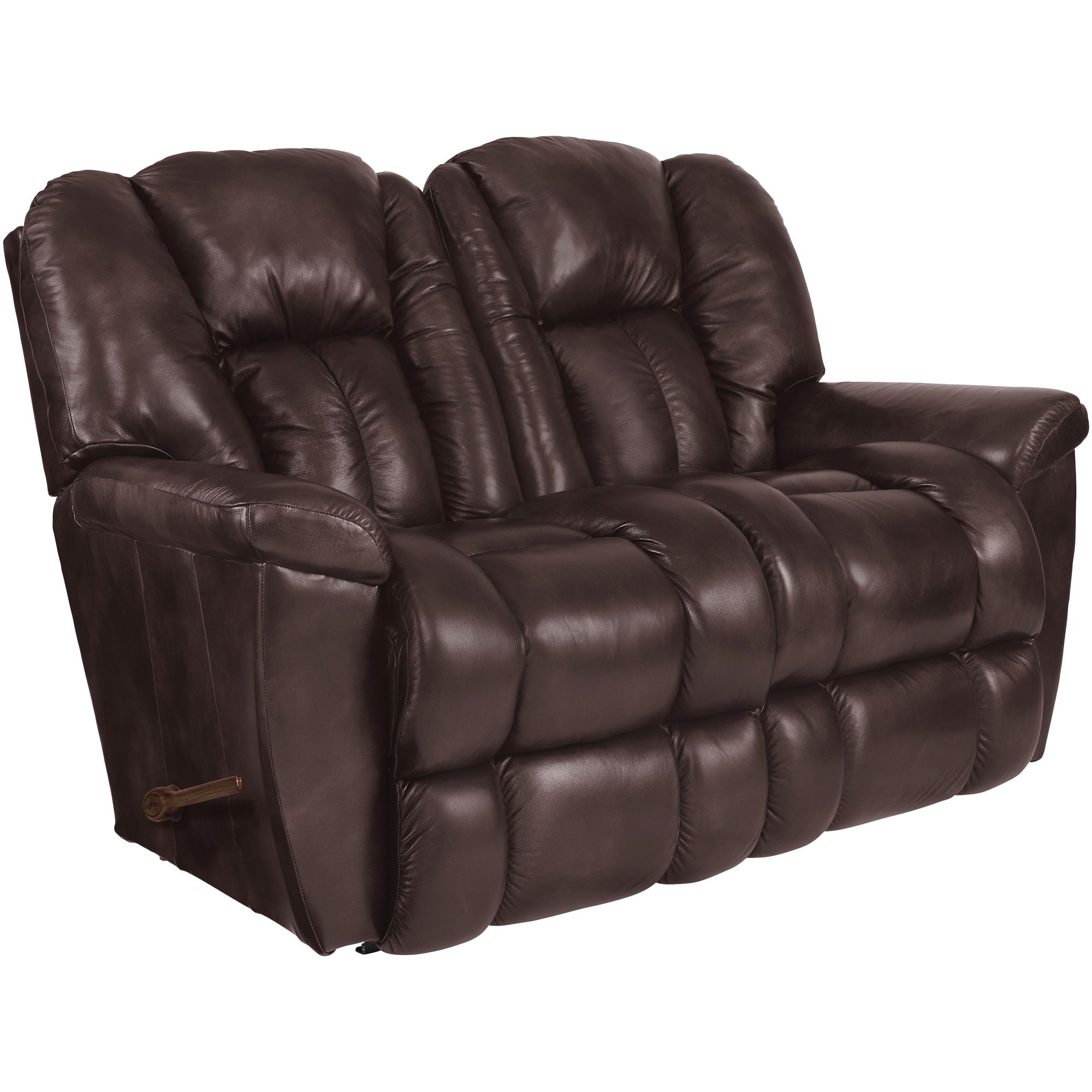 Maverick Burgundy Reclining Loveseat Recliner Luxury Sofa Sofa