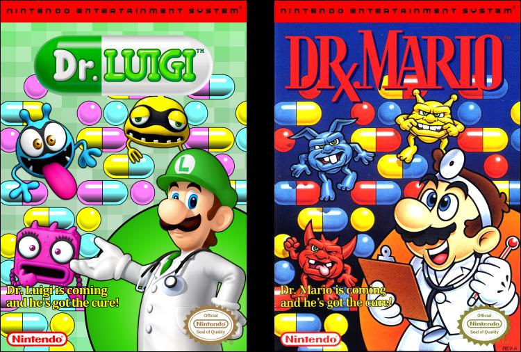 Dr Luigi Box Cover By Vladictivo Luigi Covered Boxes Box