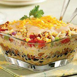 Southwestern Chicken & Cornbread Salad — Punchfork