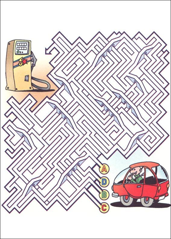 Level 3 v0n 5, Labyrinth, maze