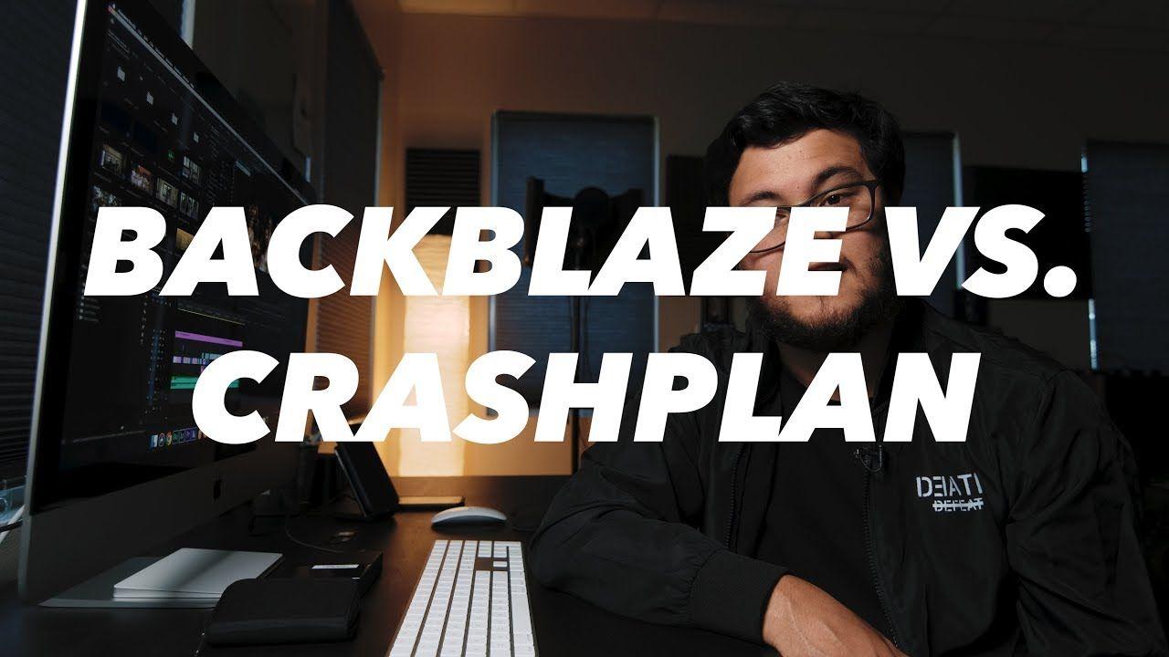 Backblaze or crashplan