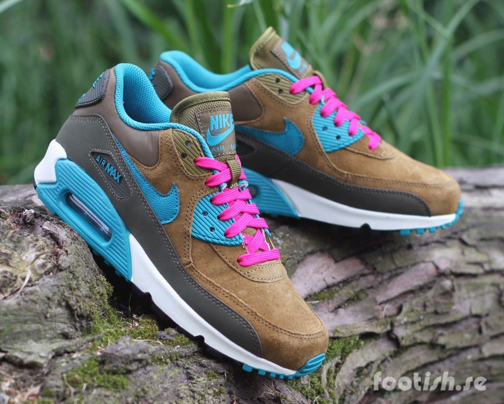 online store 68420 5977a Nike-Wmns-Air-Max-90-Leather