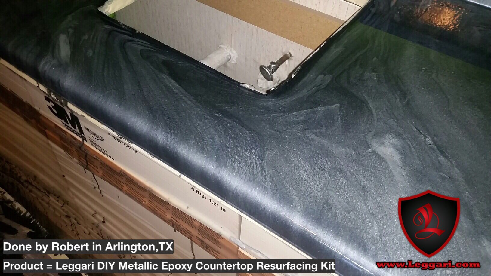 metallic #epoxy #countertop #resurfacing #kits are available for ...