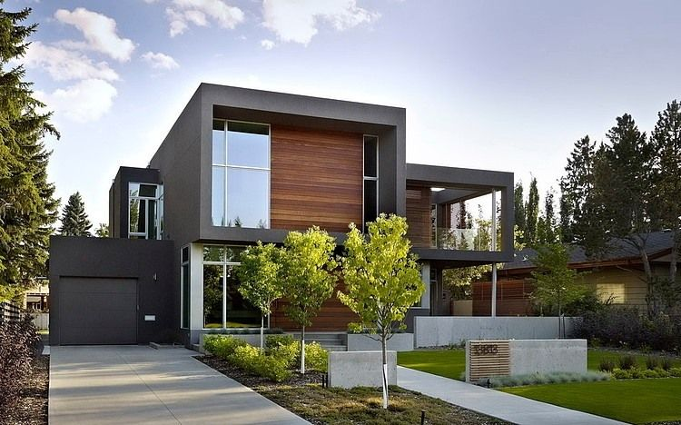 Sd House By Thirdstone I Like The Wood And Other Outside Wall
