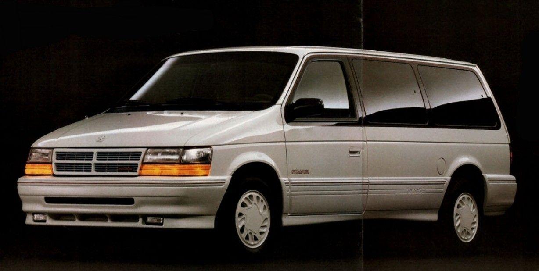 2nd Generation 1991 95 Dodge Grand Caravan Es W Awd Grand