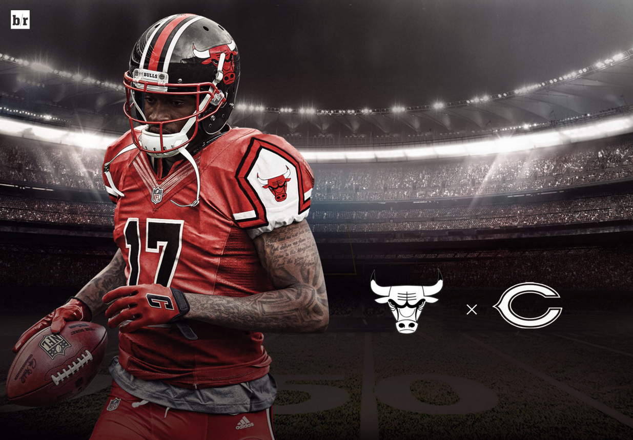 reputable site 93d03 08d29 chicago bulls football jersey