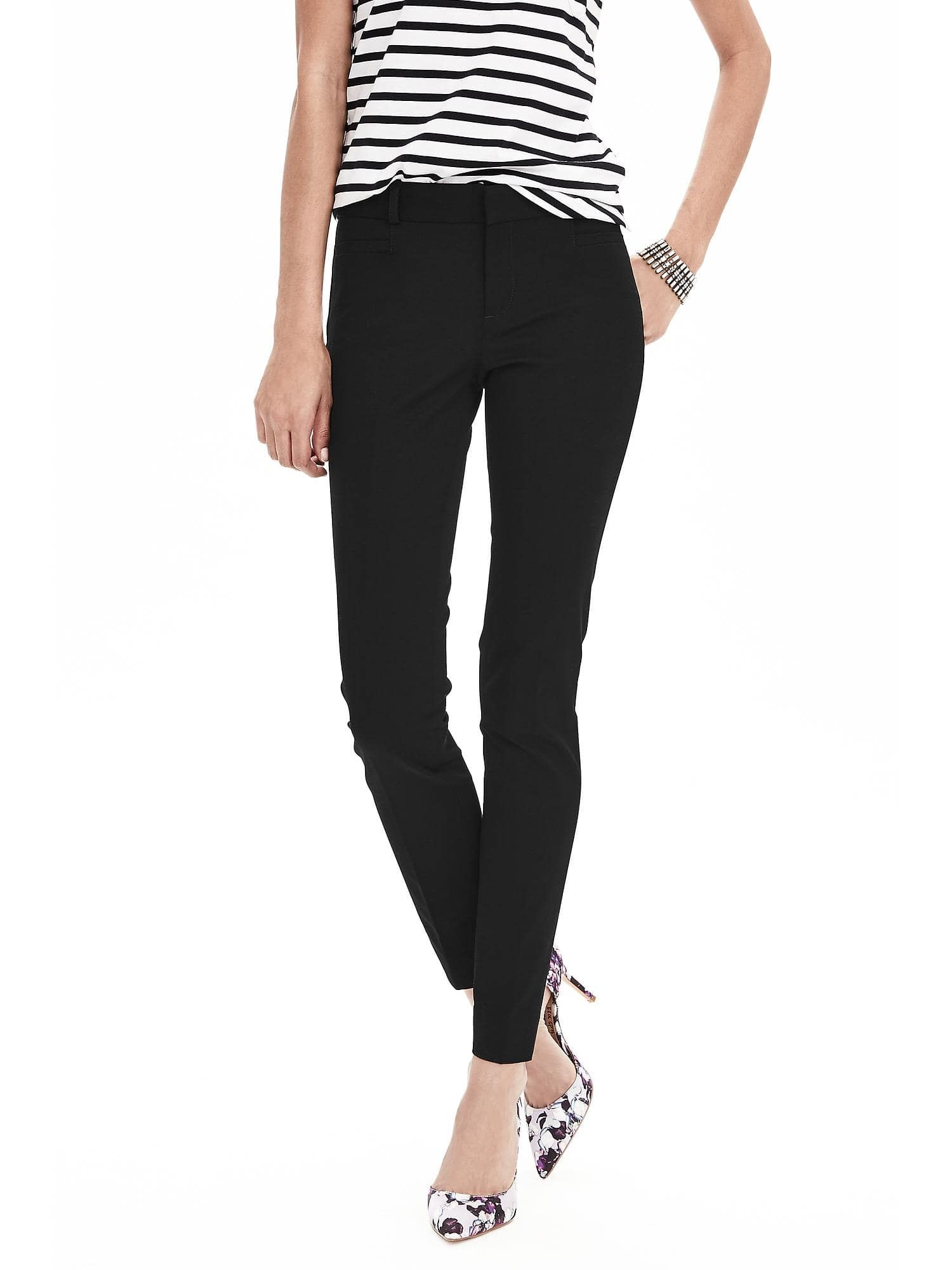 c072305181c3b Sloan Skinny-Fit Pant | Sloan pants outfits | Ankle length pants ...