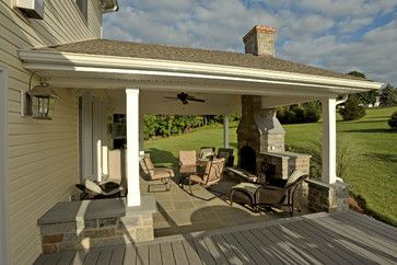 Pin By Sweet T S Pins On Home Entryway Doors Porches Portico S Outdoor Covered Patio Patio Fireplace Porch Fireplace