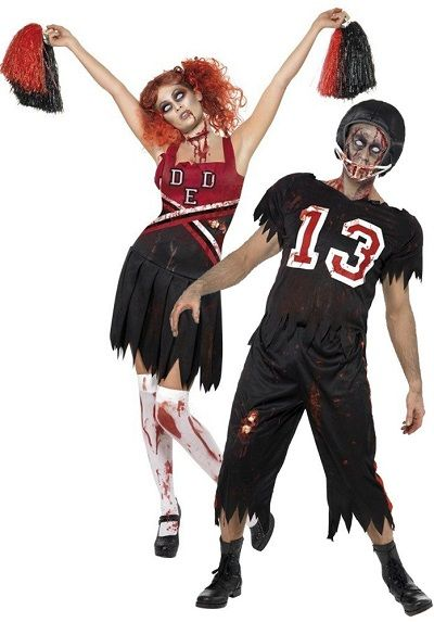 The best zombie costumes for couples to wear on Halloween. Zombie ...
