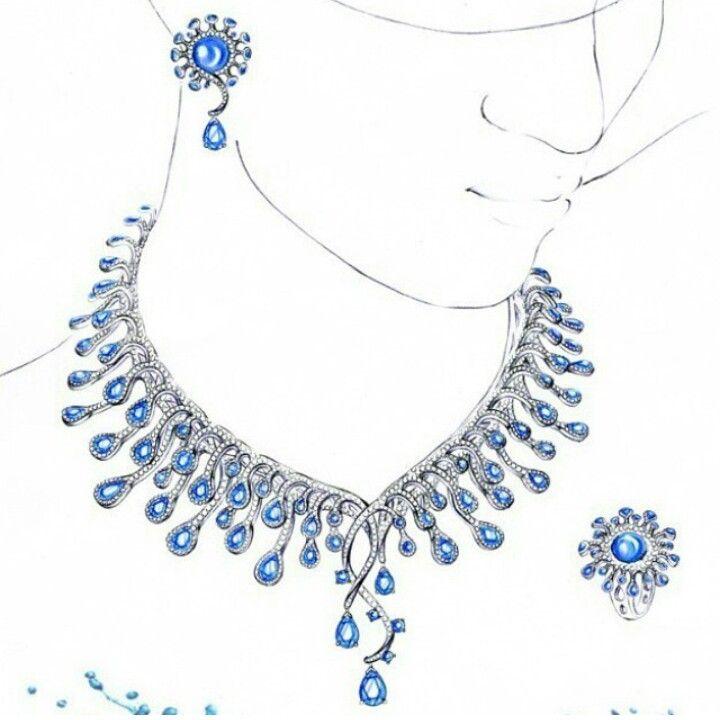 Jewelry Design | Jewellery Rendering | Pinterest | Jewellery Sketches Sketches And Jewelry ...